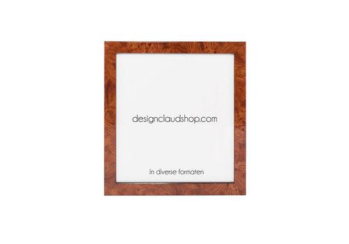 DesignClaud Houten wissellijst - Fotolijst - Wortelnoot