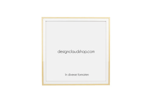 DesignClaud Houten wissellijst - Fotolijst - Wit + Blank