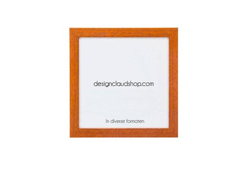 DesignClaud Wickelrahmen aus Holz - Fotorahmen - Kirschbaumholz - Verschiedene Formaten