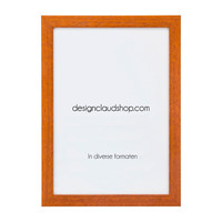 Houten wissellijst - Fotolijst - Kersen hout kleur