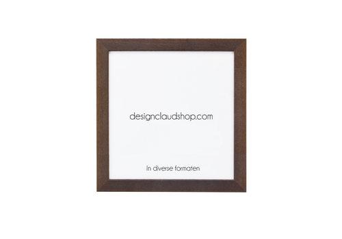 DesignClaud Houten wissellijst bruin - Fotolijst Koloniaal - Diverse formaten