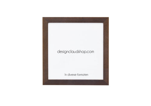 DesignClaud Wickelrahmen aus Holz Braun - Fotorahmen - Kolonial - Verschiedene formaten