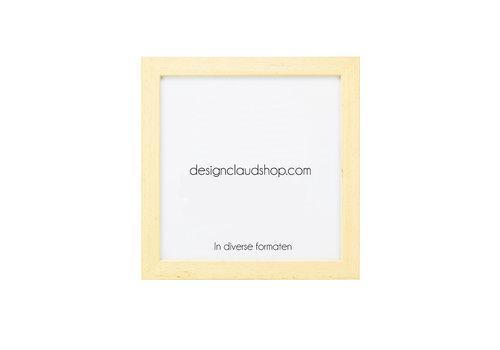 DesignClaud Wechselrahmen aus Holz - Fotorahmen Blank lackiert - Verschiedene Formaten