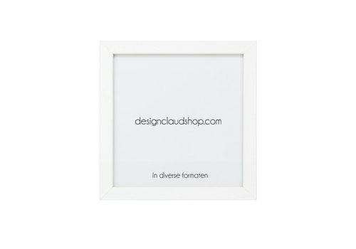 DesignClaud Wickelrahmen aus Holz - Fotorahmen Weiss - Verschiedene Formaten