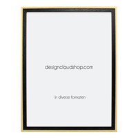 Houten wissellijst - Fotolijst - Zwart + Blank