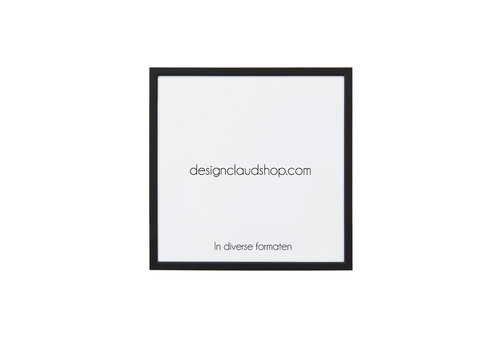 DesignClaud Wechselrahmen aus Aluminium - Fotorahmen Mattschwarz - Verschiedene Formaten