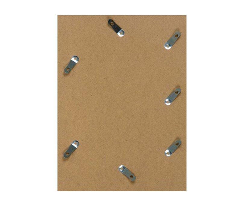Aluminium wissellijst - Fotolijst - Facetrandje - Mat zwart