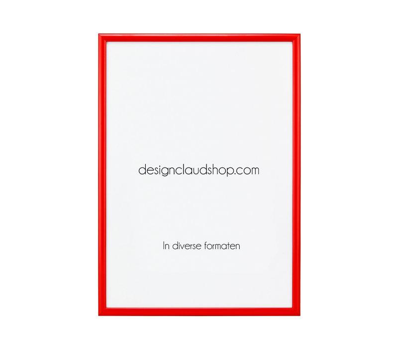 Aluminium wissellijst - Fotolijst - Rood