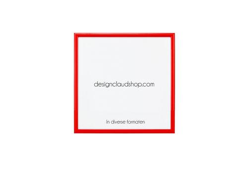 DesignClaud Aluminium wissellijst - Fotolijst - Rood - Diverse formaten