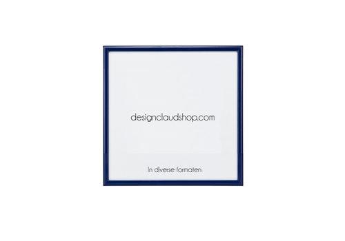 DesignClaud Wechselrahmen aus Aluminium - Fotorahmen - Blau - Verschiedene formaten