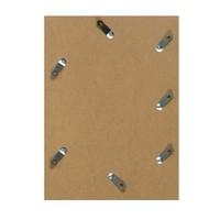 Aluminium wissellijst - Fotolijst - Facetrandje - Mat Brons licht