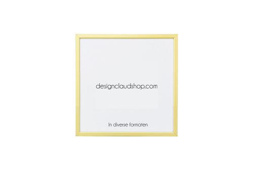 DesignClaud Aluminium wissellijst - Fotolijst Mat Champagne - Facetrandje - Div. formaten