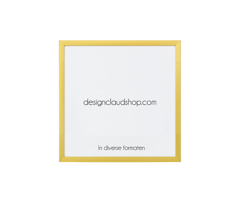 Aluminium wissellijst - Fotolijst - Mat goud