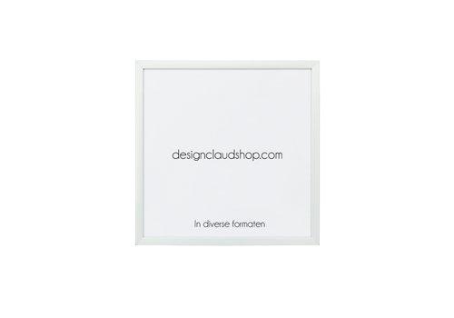 DesignClaud Wechselrahmen aus Aluminium - Fotorahmen Mattsilber - Verschiedene Formaten