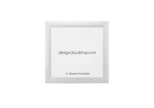 DesignClaud Aluminium wissellijst - Fotolijst Mat Zilver - Div. formaten