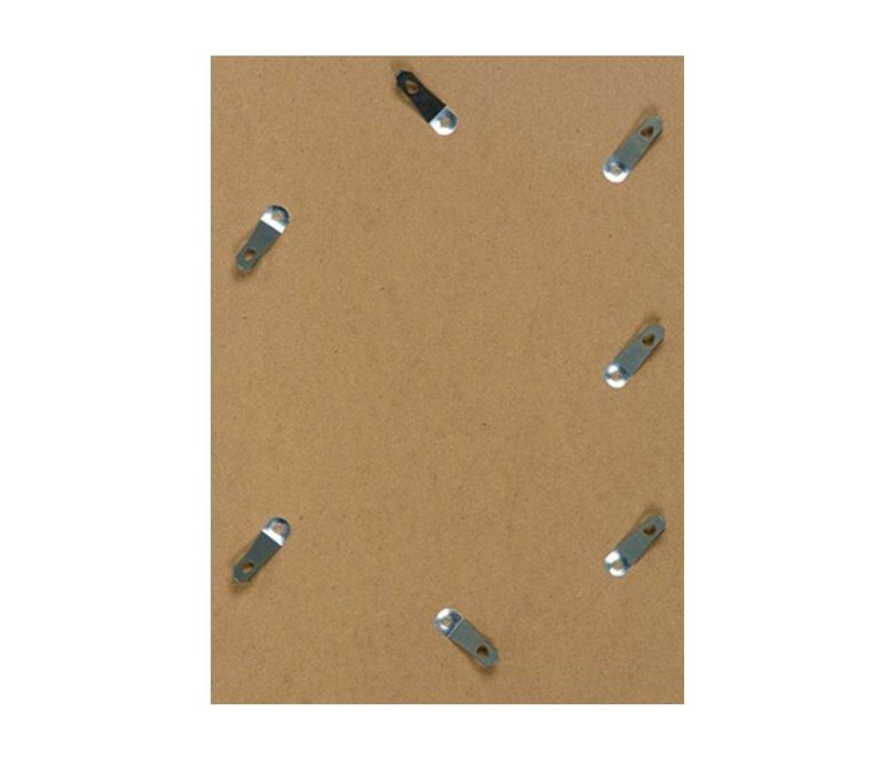 Wechselrahmen aus Aluminium - Fotorahmen Matt Champagner Farbe - Div. Formate