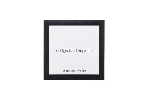 DesignClaud Aluminium wissellijst - Fotolijst Mat Zwart - Div. formaten