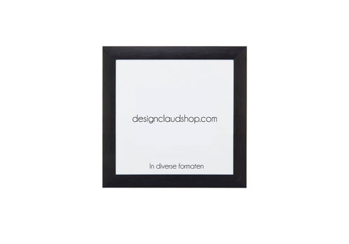 DesignClaud Wechselrahmen aus Aluminium - Fotorahmen Matt Schwarz - Div. Formate