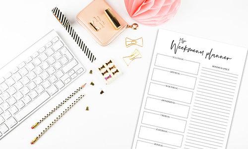 Tips voor het plannen van je eigen weekmenu!