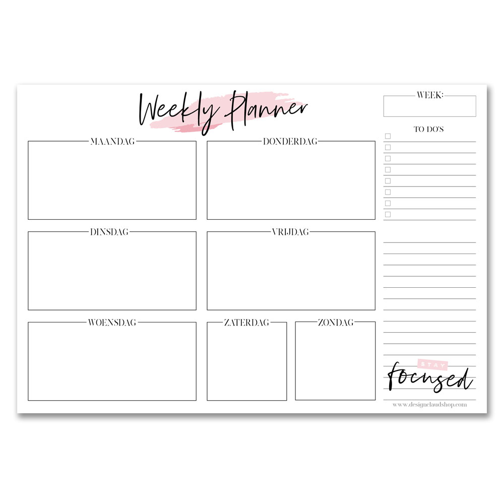 weekplanner-weekkalender-weekly-planner-roze-designclaud