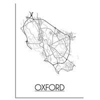 Oxford Stadtplan-poster
