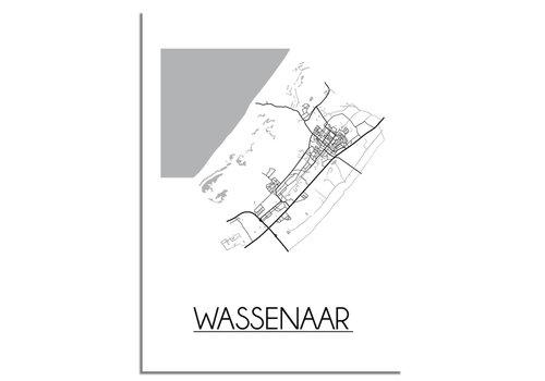DesignClaud Wassenaar Plattegrond poster