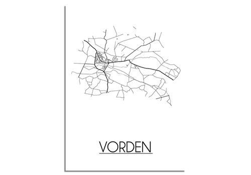 DesignClaud Vorden Plattegrond poster