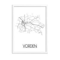 Vorden Stadtplan-poster