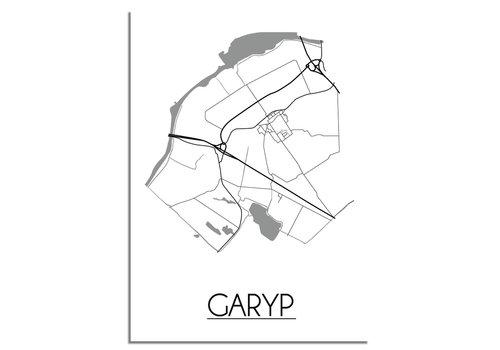 DesignClaud Garyp Plattegrond poster