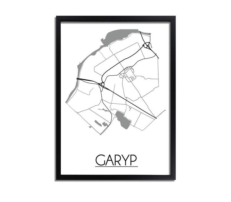 Garyp Plattegrond poster