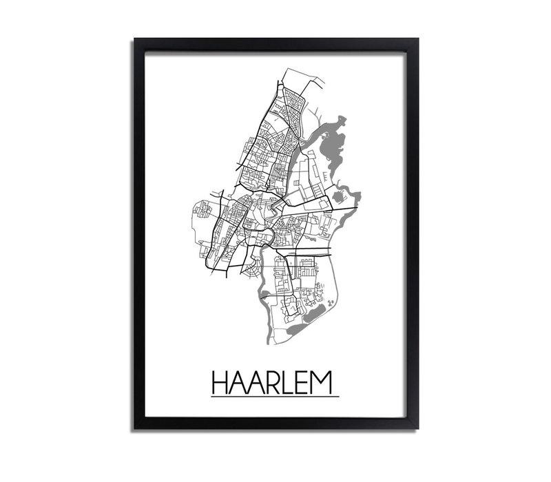 Haarlem Plattegrond poster