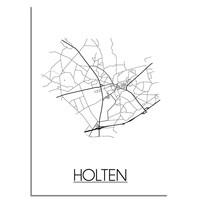 Holten Stadtplan-poster
