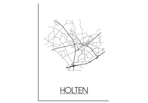 DesignClaud Holten Plattegrond poster