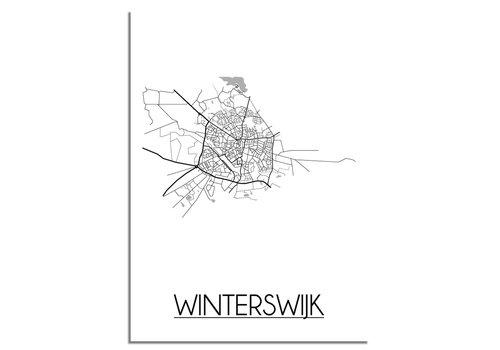 DesignClaud Winterswijk Plattegrond poster