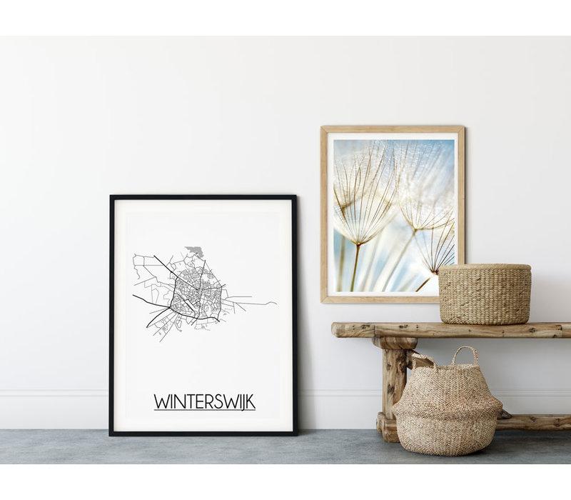 Winterswijk Plattegrond poster
