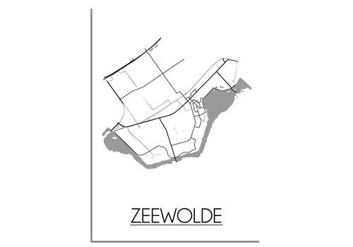 DesignClaud Zeewolde Plattegrond poster