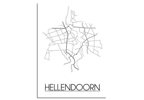 DesignClaud Hellendoorn Plattegrond poster