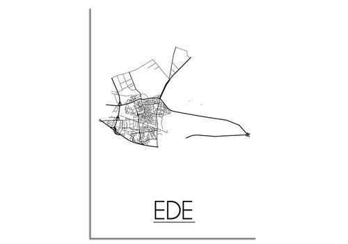 DesignClaud Ede Plattegrond poster