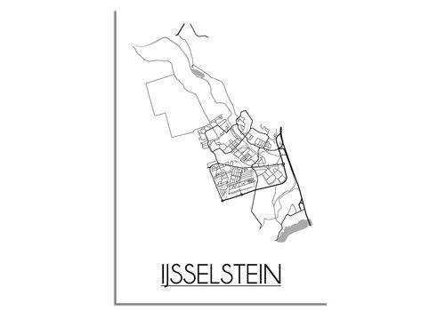 DesignClaud IJsselstein Plattegrond poster