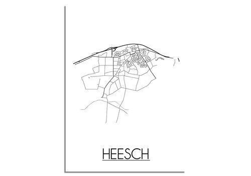 DesignClaud Heesch Plattegrond poster