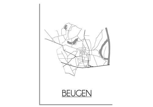 DesignClaud Beugen Plattegrond poster