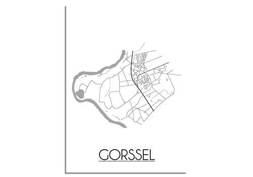 DesignClaud Gorssel Plattegrond poster