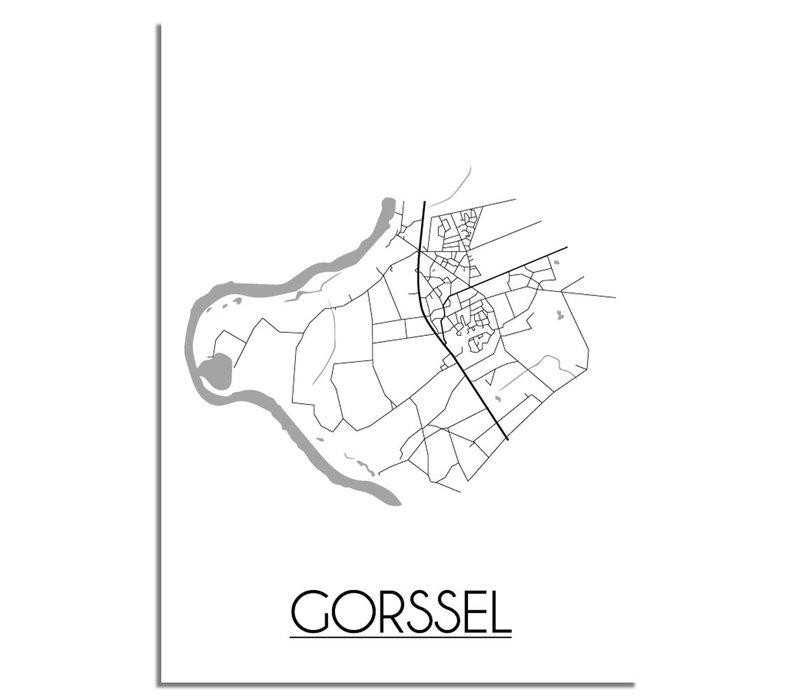 Gorssel Plattegrond poster