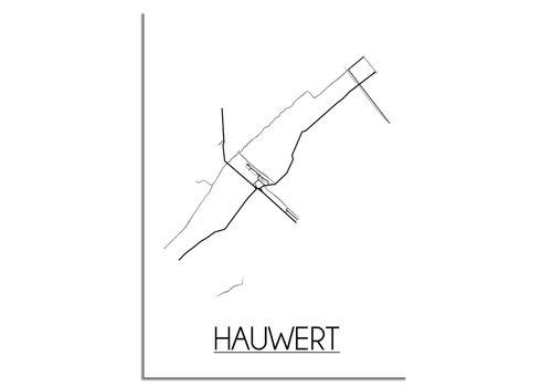 DesignClaud Hauwert Plattegrond poster