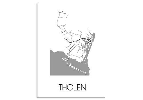 DesignClaud Tholen Plattegrond poster