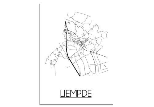 DesignClaud Liempde Plattegrond poster