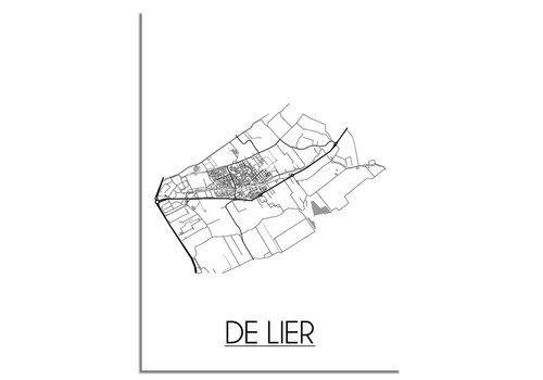 DesignClaud De Lier Plattegrond poster