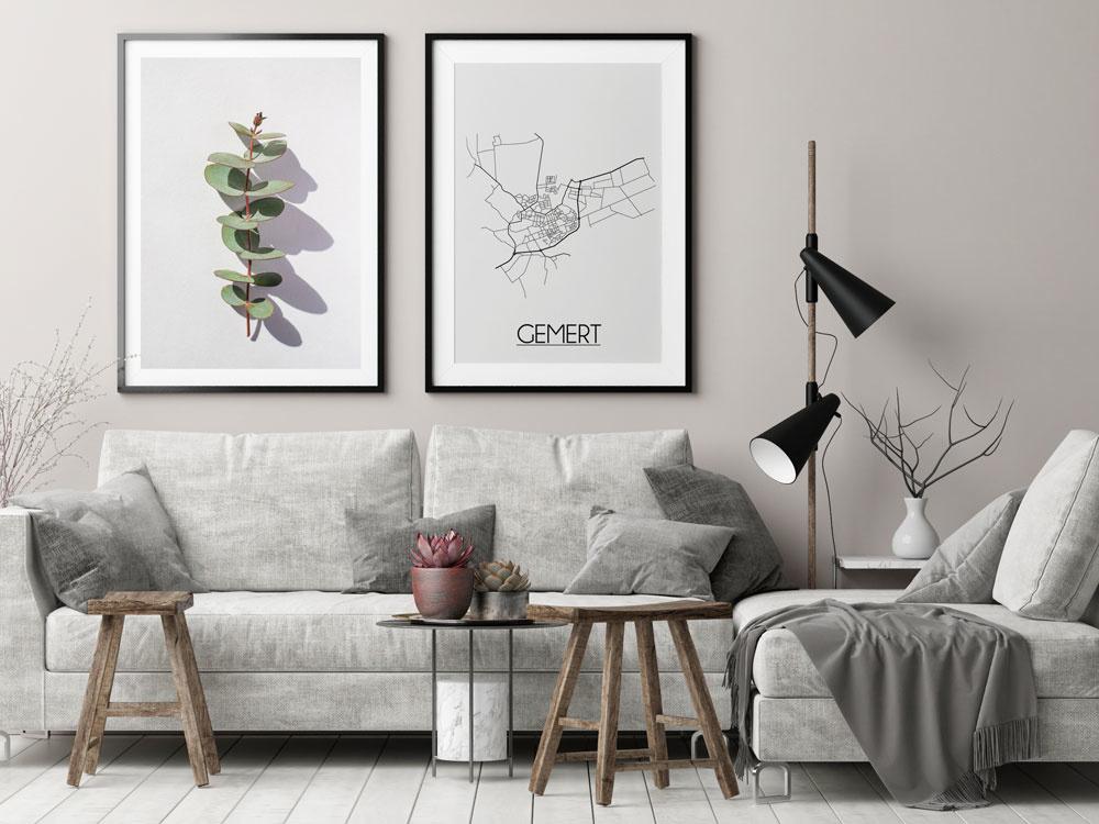 Interieur Design Gemert.Designclaud Gemert Plattegrond Poster