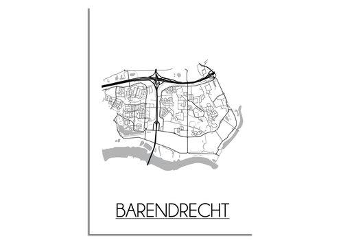 DesignClaud Barendrecht Plattegrond poster
