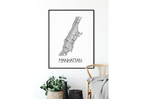 DesignClaud Stadtplan-poster auf Wunsch